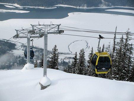 Revelstoke, British Columbia, Canada, Snow, Winter, Ice
