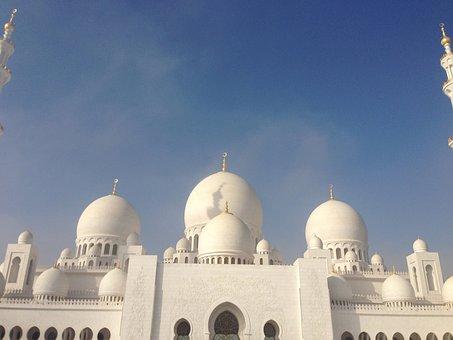 Abu, Dhabi, Architecture, Building, Islam, Moshe