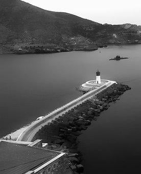 Cartagena, Lighthouse, Spain, Harbour, Landmark, Beacon