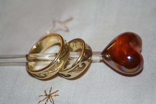 Wedding Rings, Wedding, Rings, Love, Marry, Marriage