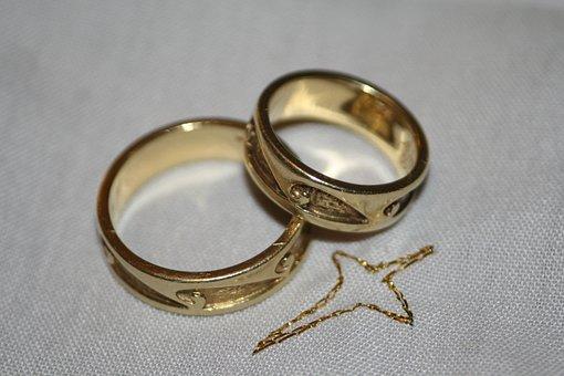 Wedding Rings, Rings, Marry, Wedding, Marriage, Symbol