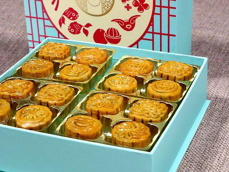 Mid-autumn Festival, Traditional, Mooncake, Mini