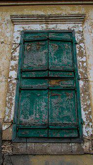Window, Wooden, Old, Aged, Weathered, Old Window