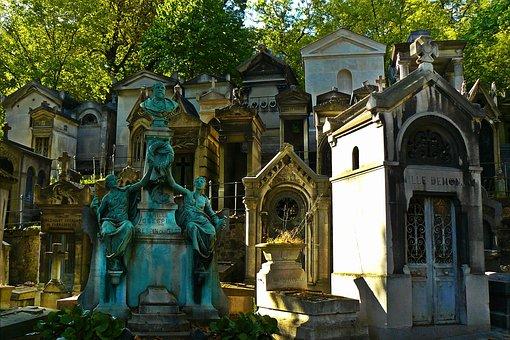 Paris, Cemetery, Tomb, Grave, Resting Place, Graves