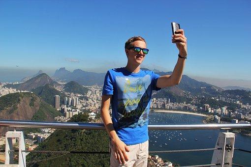 Selfie, Rio De Janeiro, Sugarloaf, Copacabana, Rio