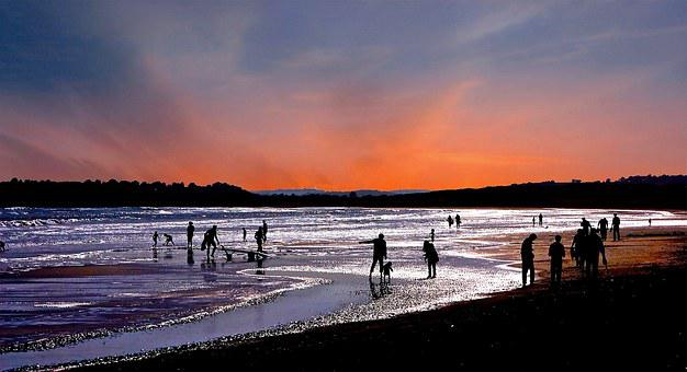 Sand, Sea, Sunset, Summer, Coast, Travel, Vacation