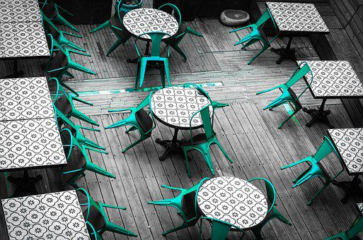 Creative, Tables And Chairs, Wallpaper, Shenzhen