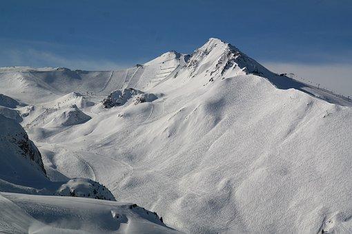 Ischgl, Ski Area, Skiing, Hell Top, Skiers, Ski Resort