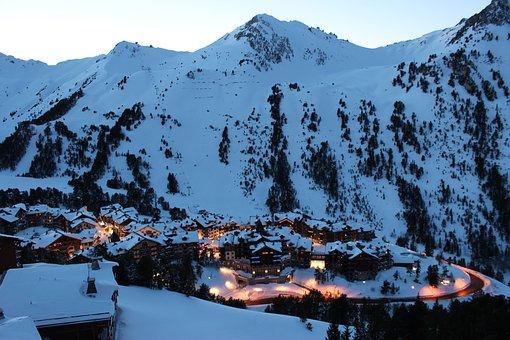 Mountain, Skiing, Snow, Ski, Winter, Sport, Cold, Alps