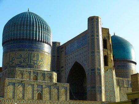 Bibi Xanom, Mosque, Samarkand, Uzbekistan, Building