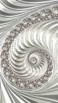 Fractal, Art, Design, Pattern, Texture, Light, Space
