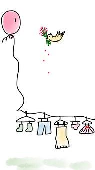 Balloon, Clothes, Cute Clothes, Clothing