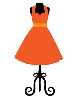 Dress, Vintage, Fashion, Retro, Clothing, Design
