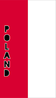Poland, Country Flag, Banner, Bunting, Summer Olympics