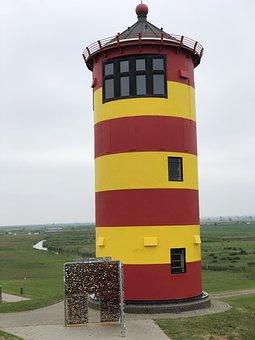 Greetsiel, Lighthouse, Otto, Pilsum, East Frisia