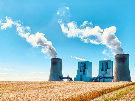 Neurath, Lignite-fired Power Plant, Industry, Pollution
