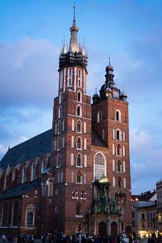 Krakow, Poland, City, Architecture, Historic Center