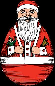 Santa, Claus, Rollie, Polly