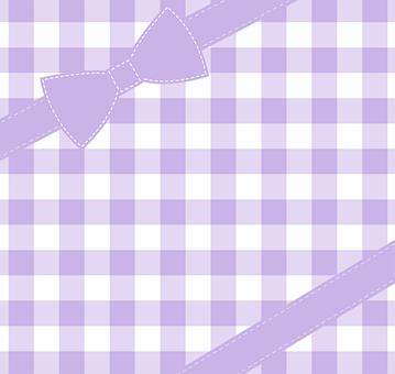 Tablecloth, Loop, Box, Lilac, Gingham, Congrats, Card