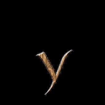 Wooden Y, Y, Letter, Letter Y, Wooden, Text, Font, Wood