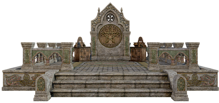 Altar, Stone, Wicca, Cult