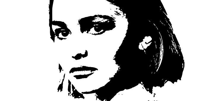 Lily-rose Melody Depp, Illustration, People, Art