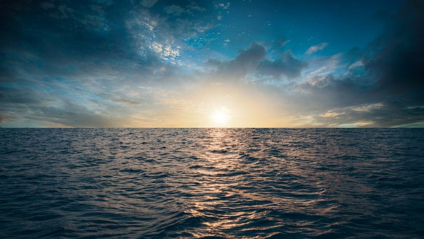 Landscape, Sea, Beautiful, Nature, Sky, Sunset, Sunrise