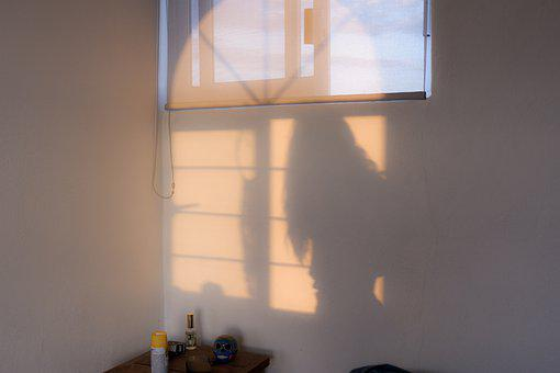 Shadow, Woman, Girl, Silhouette, People, Face, Person