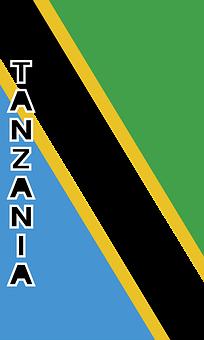Tanzania, Country Flag, Banner, Bunting