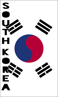 South Korea, Country Flag, Banner, Bunting