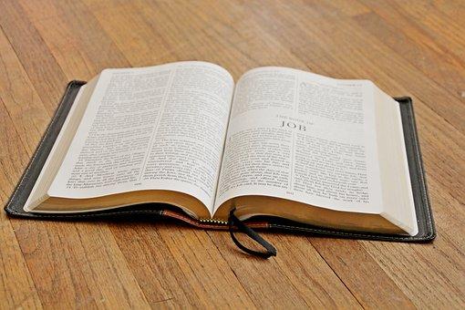 King James Version, Kjv, Bible, Book Of Job, Job