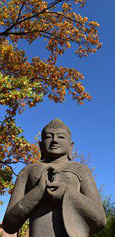 Asia, Buddha, Relaxation, Figure