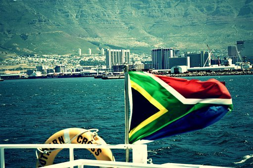 Cape Town, South-africa, Ocean, Africa, City, Coast