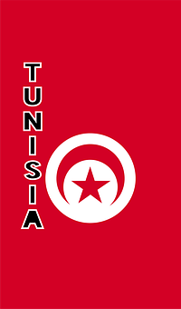 Tunisia, Country Flag, Banner, Bunting, Summer Olympics