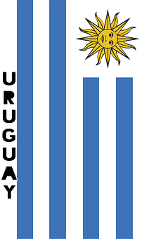 Uruguay, Country Flag, Banner, Bunting, Summer Olympics