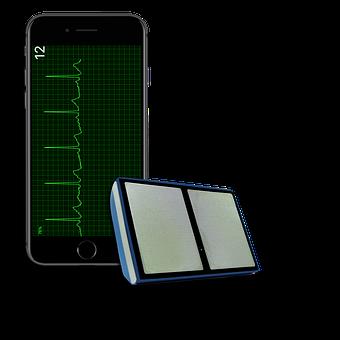 Ecg, Iphone, Credit Card, Heart