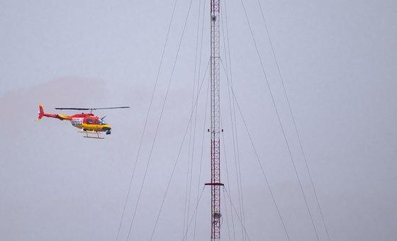 Helicopter, Nezahualcoyotl, Coyote, Police