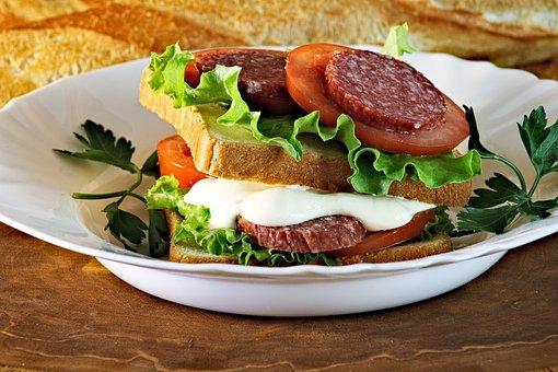 Juicy Sandwich, Sandwich, A Cheese Sandwich