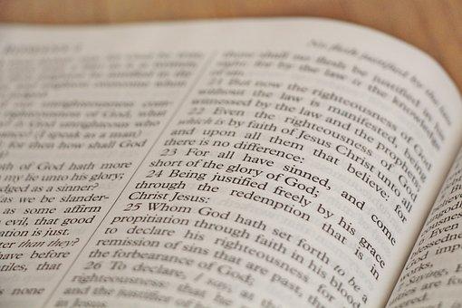 King James Version, Kjv, Bible, Romans, Christianity