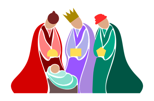 Illustration, Its, Magi, Kings, The Offer, Jesus, Boy