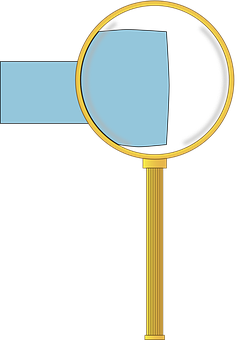 Magnifying Glass, Lens, Expand