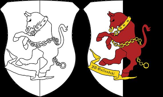The Grand Duchy Of Ostlandu, Coat Of Arms, Ostland