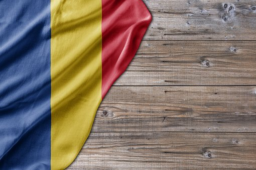 Flag, Wood, Romania, Country, Red, Travel, Mail
