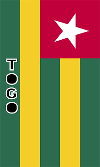 Togo, Country Flag, Banner, Bunting, Summer Olympics