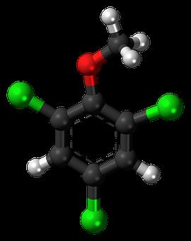 Trichloroanisole, Tca, Aromatic, Cyclic, Model