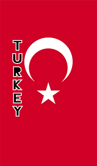 Turkey, Country Flag, Banner, Bunting, Summer Olympics