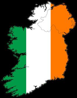 Ireland, Map, Europe, Irish, Country, Symbol, Dublin
