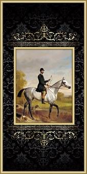 Horse, Man, Victorian, Equestrian