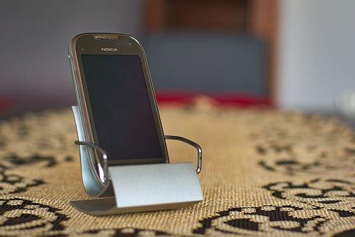 Nokia, C7, Nokia C7, Phone, Chair, Metal, Ornament