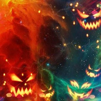 Halloween, October, Pumpkin, Grussellich, Bright, Fun